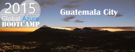 Global Azure BootCamp Guatemala 2015