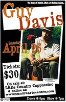 Guy Davis performing at the Sundre Arts Centre
