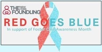RED GOES BLUE, The Foundling's Spring Event for Foster...
