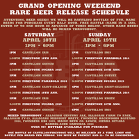 Craft Beer Cellar Newton Grand Opening Weekend