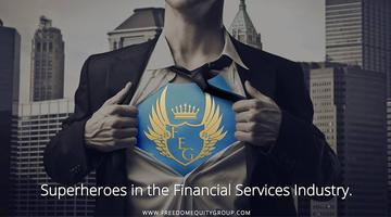 Become a Superhero in the Financial Services Industry....