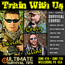 Ultimate Survival Tips logo