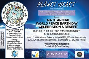 Planet Heart's 9th Annual World Peace Earth Day...