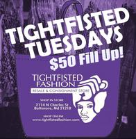Tightfisted Tuesdays $50 Fill Up - First of 2016