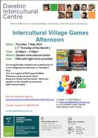 Intercultural Village Games Afternoon