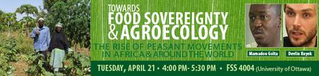 Towards Food Sovereignty & Agroecology: The Rise of...