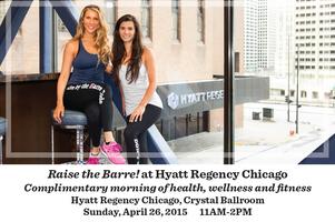 Raise The Barre at Hyatt Regency Chicago