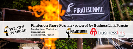 Pirates on Shore Poznan - powered by Business Link...