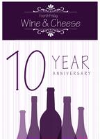 4th Friday Wine & Cheese 2015