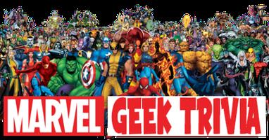 Marvel Geek Trivia