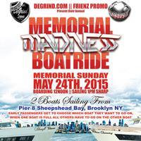 MEMORIAL MADNESS BOAT RIDE