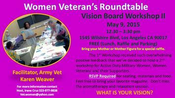 Women Veterans Roundtable - Vision Board Workshop II