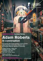 Adam Roberts in Conversation