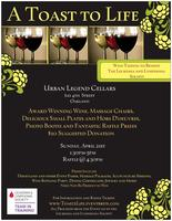 A Toast to Life- Wine Tasting to benefit the Leukemia...