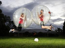 Frankfurt BUBBLEBALL FOOTBALL FESTIVAL 21.Juni...