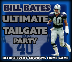 Bill Bates Tailgate Party (Giants at Cowboys)