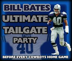 Bill Bates Tailgate Party (Patriots at Cowboys)