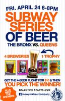 Subway Series of Beer