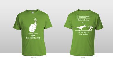 Run for India Training T-Shirt sale