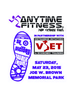 """Anytime Fitness """" Victory Run/Walk"""" 5K & 1/4 Mile"""