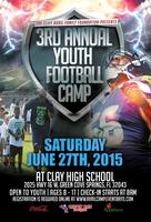 Cliff Avril 3rd Annual Youth Football Camp