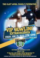 Cliff Avril VIP Bowling Extravaganza