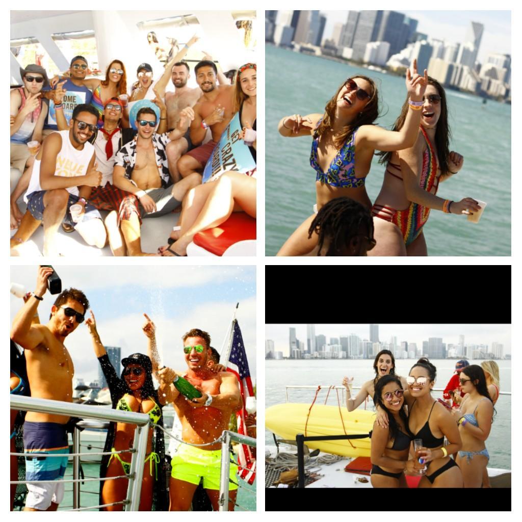 #WILD #PARTY #BOAT Miami Spring Break Booze Cuise