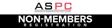 ASPC Conference 2015 Non Member Bookings