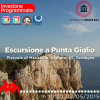 Invasione Digitale ad Alghero sul promontorio di Punta ...