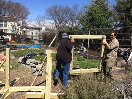 Compost Bin Build at Aya Organic Garden