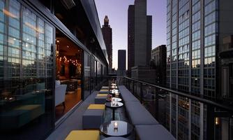 Sunset cocktails and Live Jazz over Park Avenue