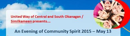 Central Okanagan - 2015 Evening of Community Spirit