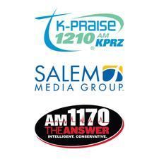K-Praise 1210 AM KPRZ & AM 1170 The Answer logo