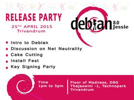 Debian Jessie Release Party