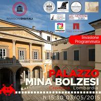 #InvasioniDigitali a Plazzo Mina Bolzesi (Cremona)