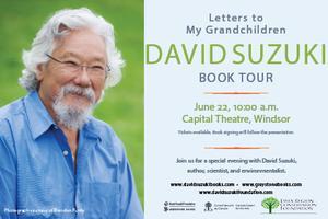 David Suzuki Book Tour: Letters to My Grandchildren