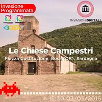 Invasione Digitale alle chiese campestri di Bosa