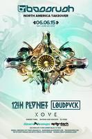 BASSRUSH FT. 12th PLANET, LOUD PVCK, and KOVE