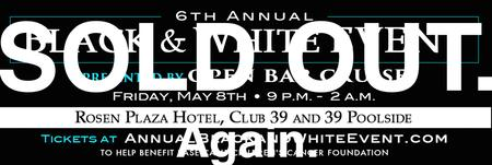 *Sold Out*6th Annual Black and White Event Presented...