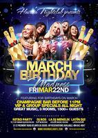 March Birthday Madness at Havana Club