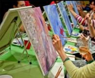 A Paint Nite With Ruthy Valdez at Corner Social