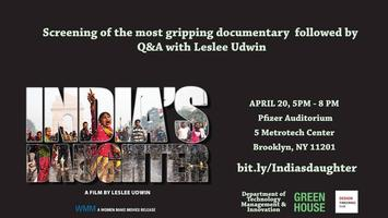 India's Daughter Screening Q&A with Leslee Udwin