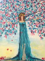 Spring Tree Goddess