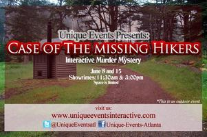 Case of the Missing Hikers Murder Mystery