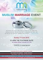 MUSLIM MARRIAGE EVENT -(LEICESTER)