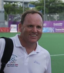 David Passmore, High Performance Coach and Coach Educator for Euro/World Hockey logo