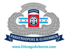 Chicago Chapter, 82nd Airborne Division Association logo