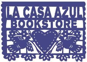Collage making at La Casa Azul Bookstore! June 2015