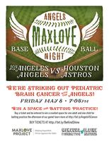 Striking Out Pediatric Brain Cancer with The Angels,...