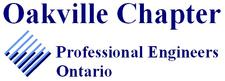 Professional Engineers Ontario - Oakville Chapter logo